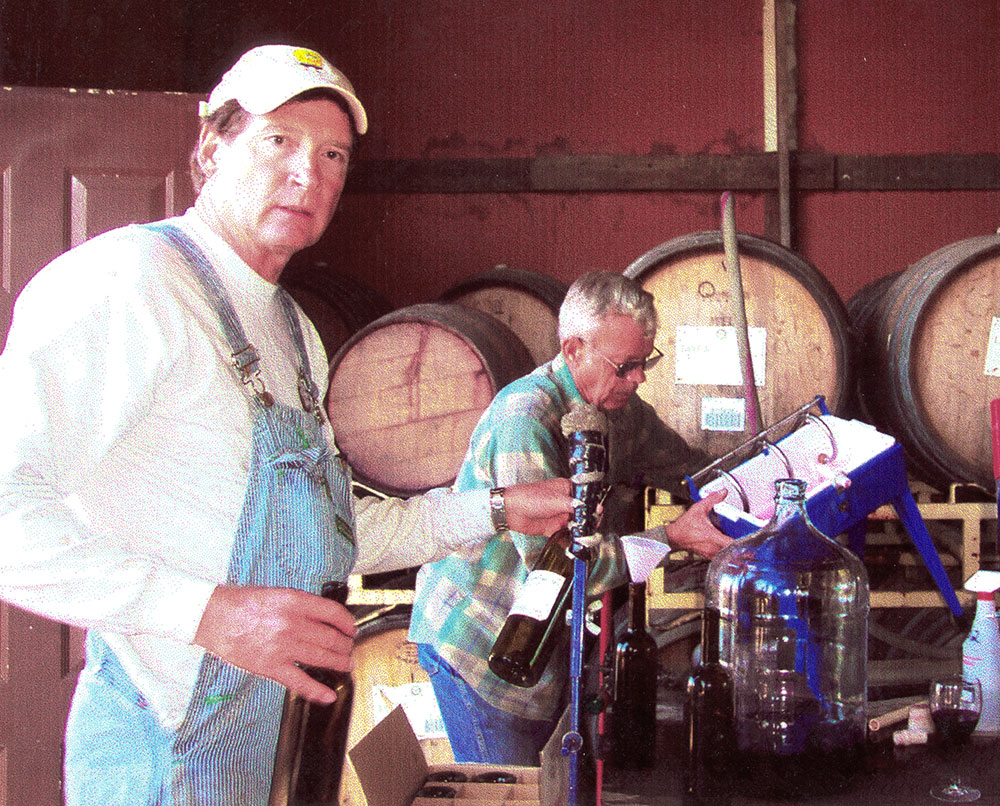 Freed Estate Winery bottling