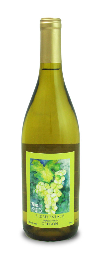 viognier wine bottle freed estate winery
