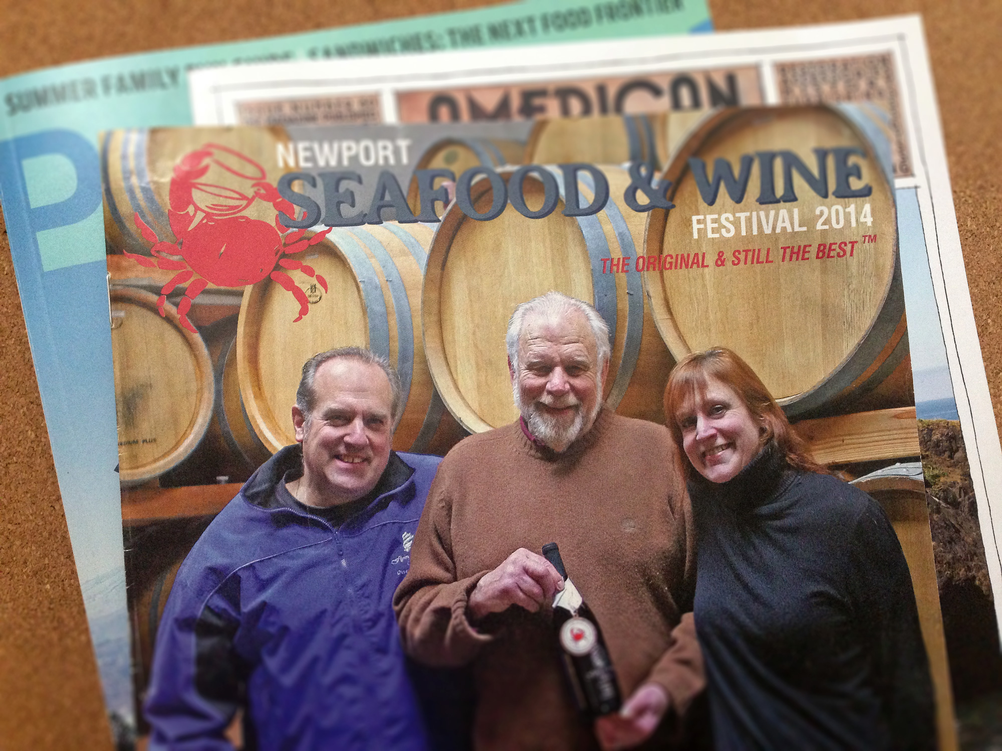 best of show newport seafood wine program cover
